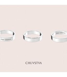 Какие параметры в кольцах CHUVSTVA можно выбрать?